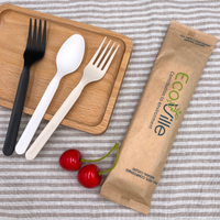 6 Inch Heavy Duty Eco Friendly Cutlery Set