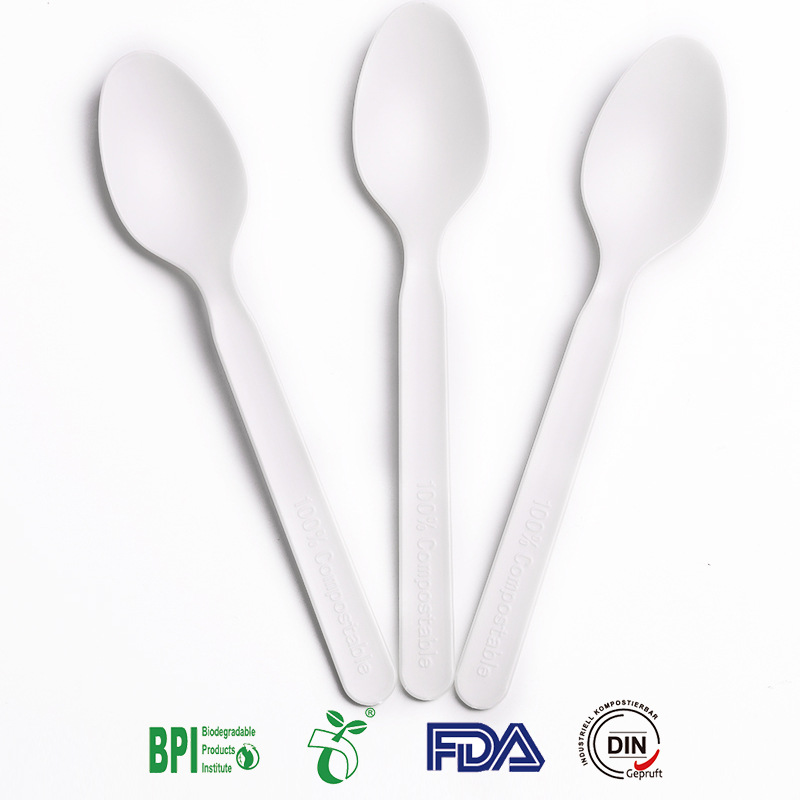 6 Inch Luxury Disposable CPLA Spoon